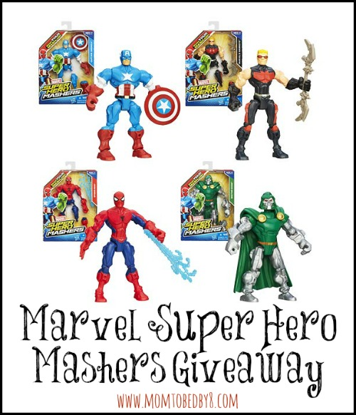 MARVEL SUPER HERO MASHERS GIVEAWAY