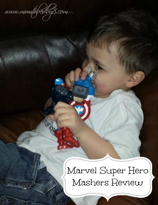 Marvel Super Hero Mashers Review 2