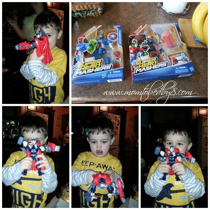 Marvel Super Hero Mashers Review