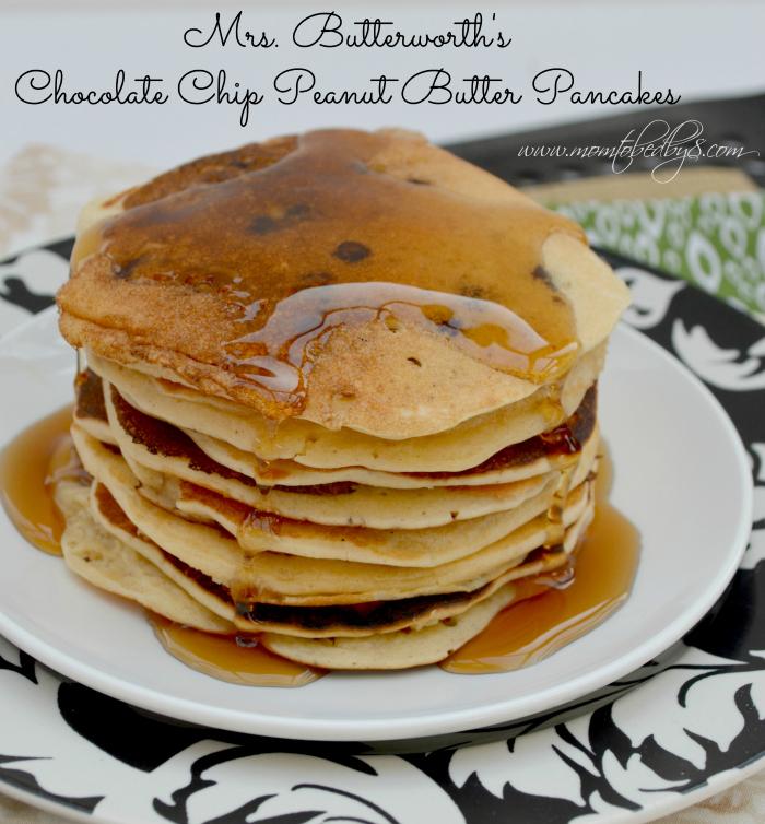 Mrs. Butterworth's Chocolate Chip Peanut Butter Pancake Recipe