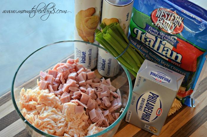 Chicken cordon bleu pockets ingredients