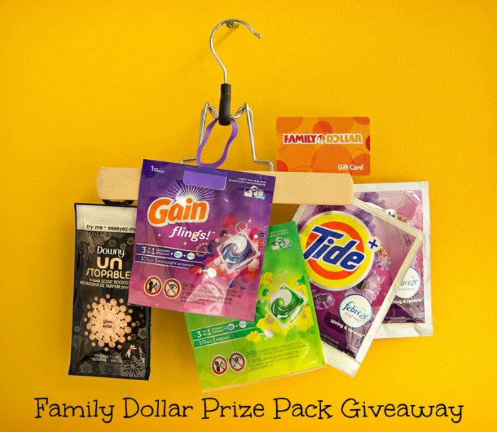 Family Dollar Prize Pack Giveaway