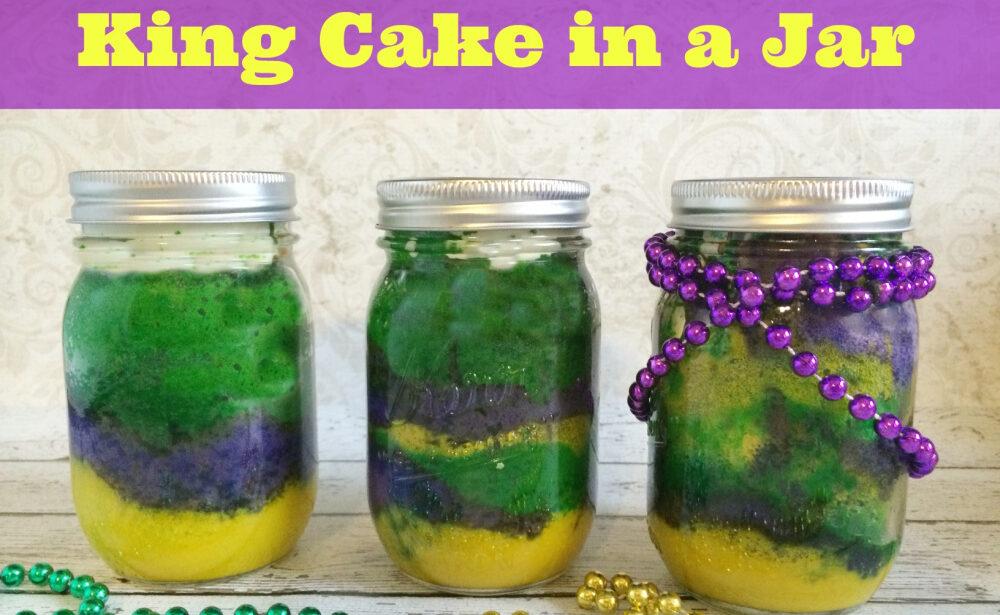 King Cake in a Jar Recipe