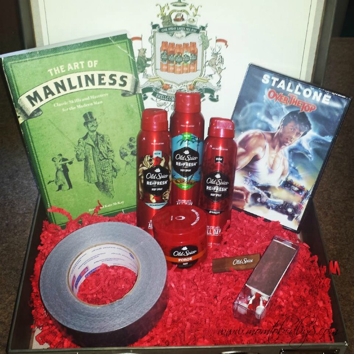 """Old Spice """"Smellcome to Manhood"""" kit"""