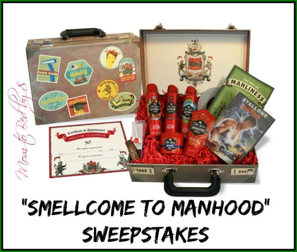 Smellcome to Manhood Sweepstakes