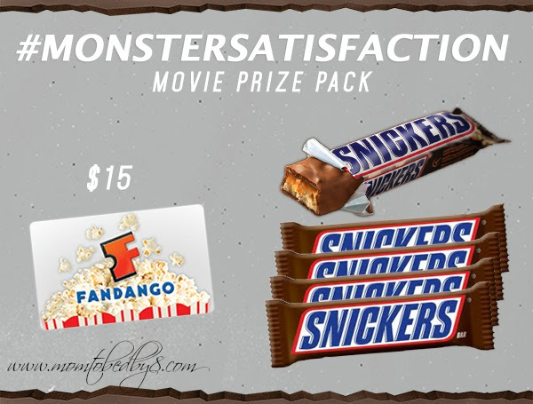 Snickers Movie Prize Package