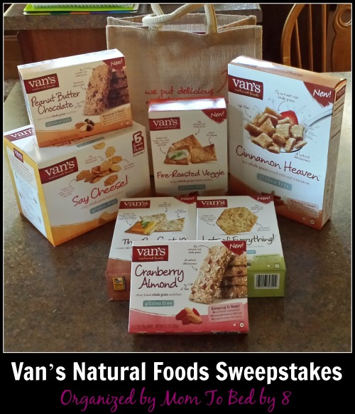 Van's Natural Foods Sweepstakes