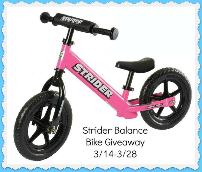 strider bike giveaway