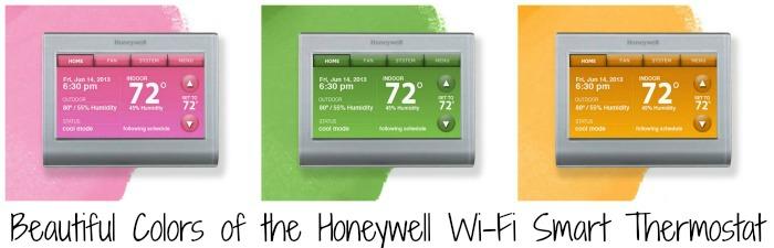 Honeywell Wi-Fi Smart Thermostat Looks