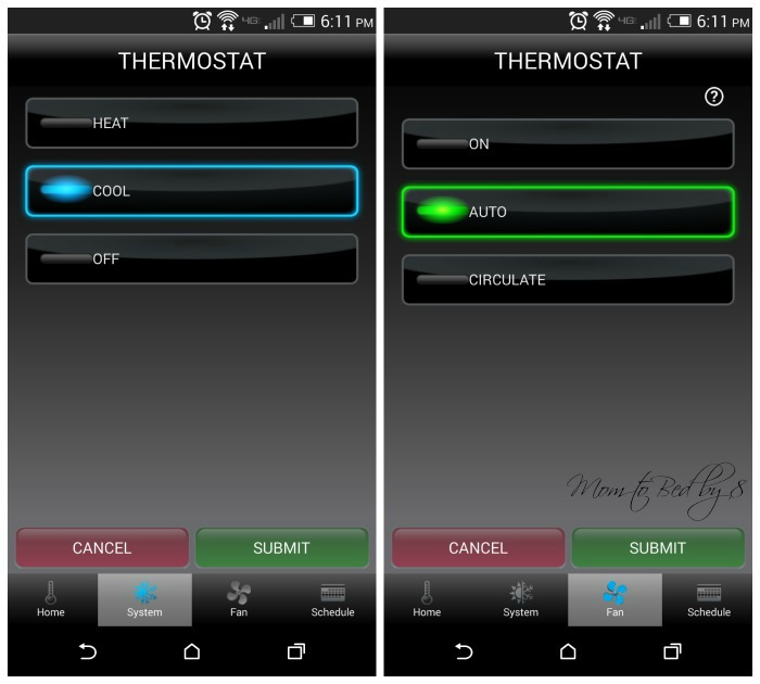 Honeywell Wi-Fi Smart Thermostat Review Screenshot