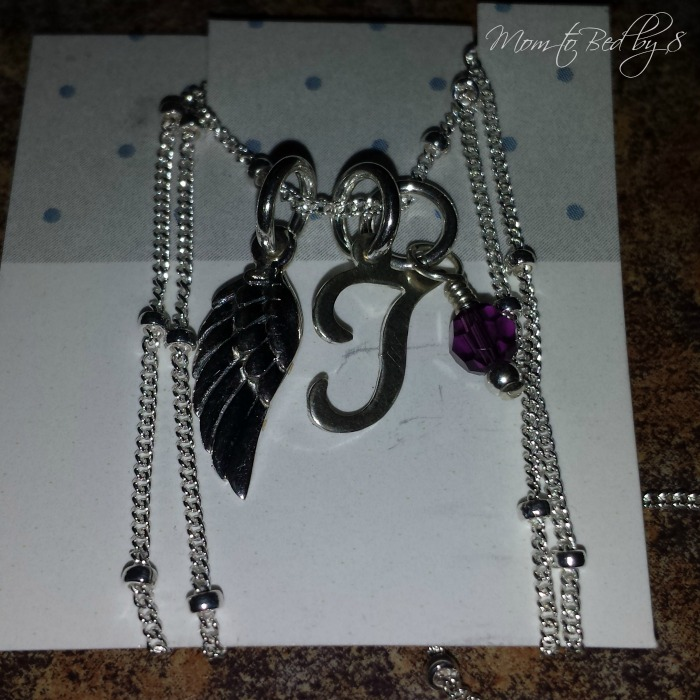 Initial Scroll Necklace