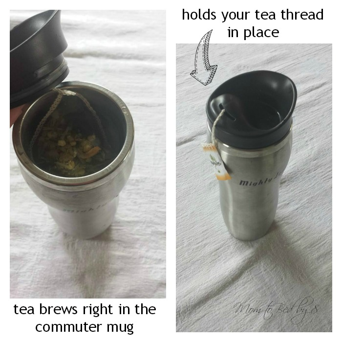 Mighty Leaf Tea Brewing