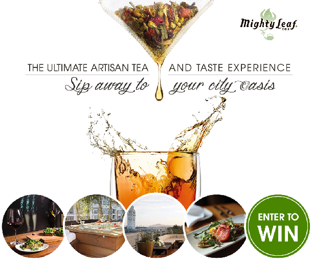 Mighty Leaf Tea and Taste Giveaway