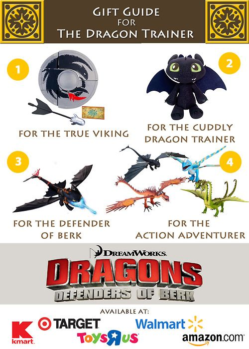 Gift Guide for The Dragon Trainer!