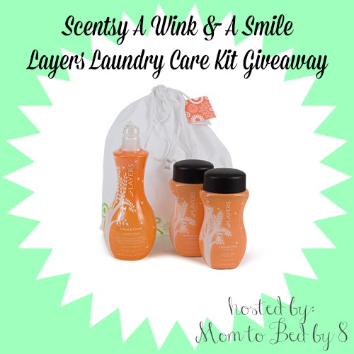 A Wink & A Smile Layers Laundry Care Kit Giveaway