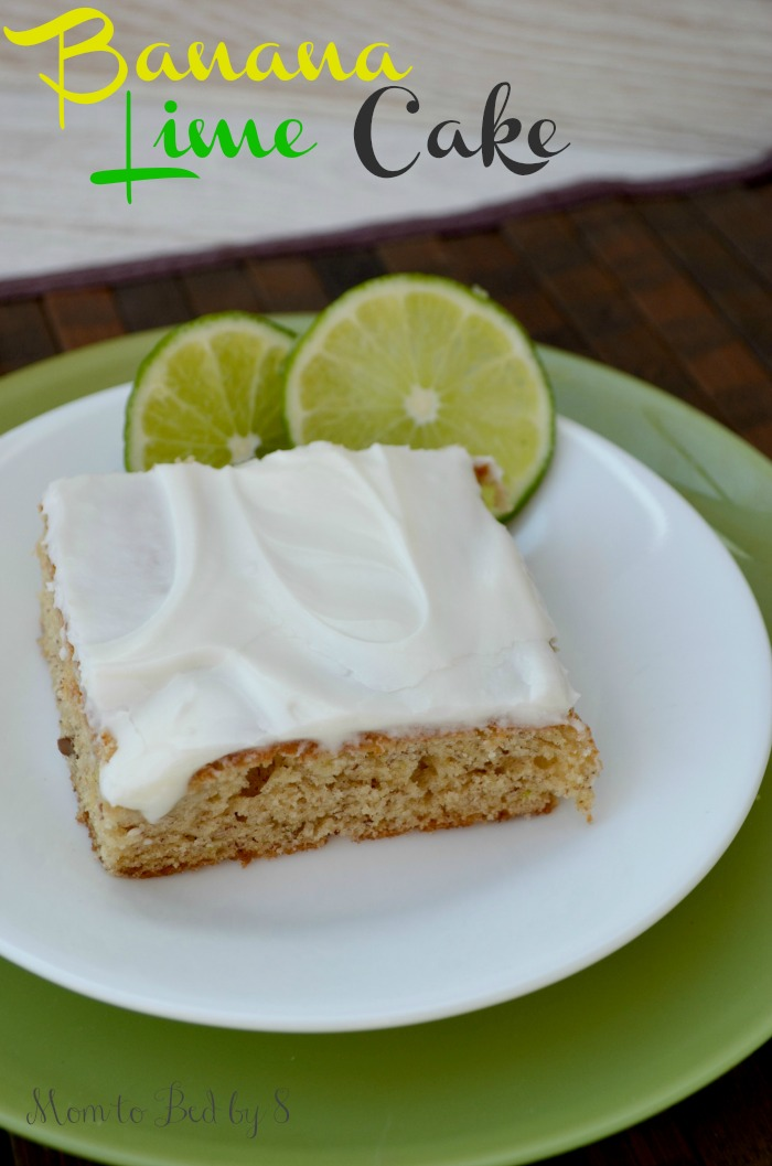 Banana Lime Cake Recipe
