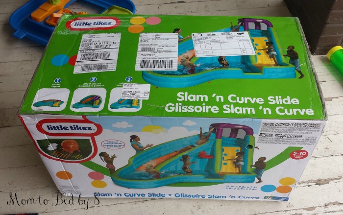 Slam 'n' Curve Slide Box