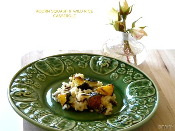acorn squash wild rice