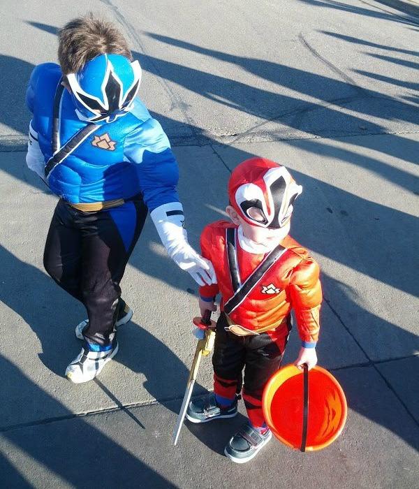 Power Rangers Halloween 2012