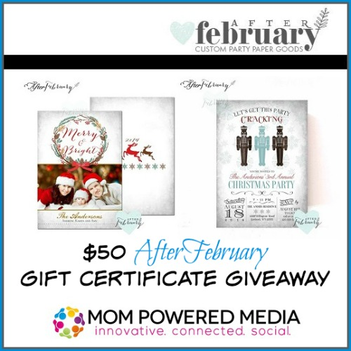 AfterFebruary Giveaway
