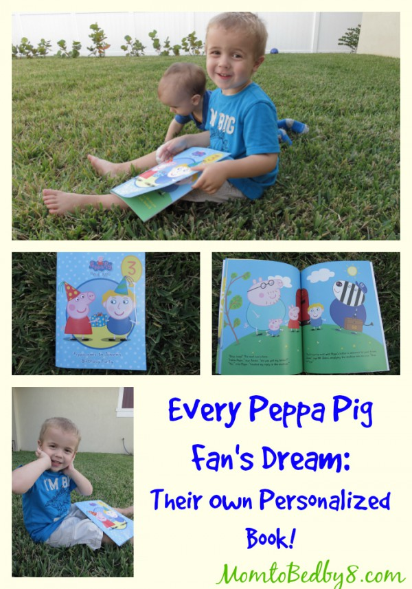 Every Peppa Pig Fan's Dream: Their Own Personalized Book by Penwizard