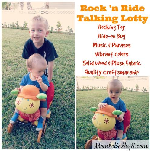 Rock 'n Ride Talking Lotty