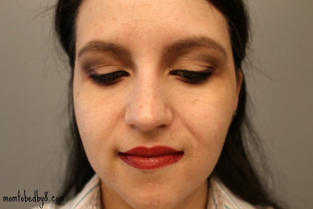 glam mom everyday look finished