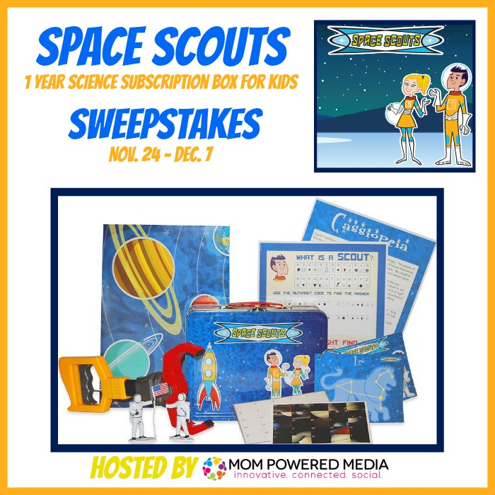 space scouts sweepstakes button