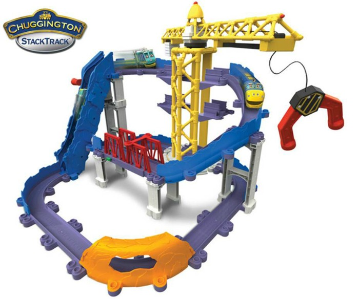 Chuggington StackTrack Brewster's Big Build Adventure Playset