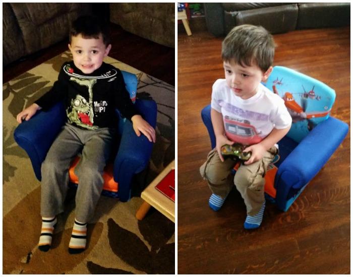 Elliot in Chair