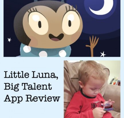 Little Luna, Big Talent App Review