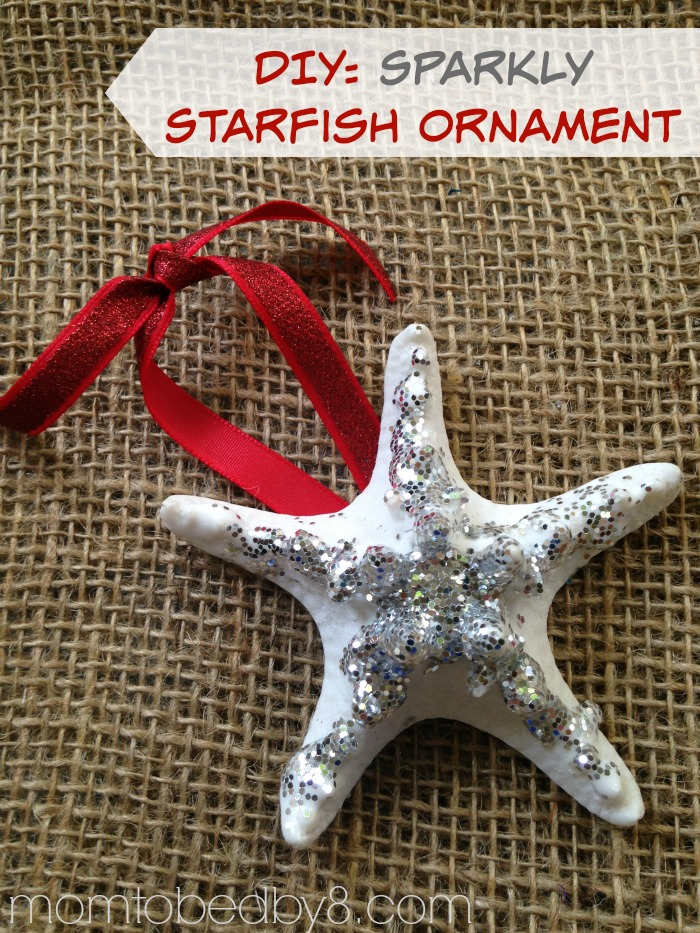 Sparkly Starfish Ornament