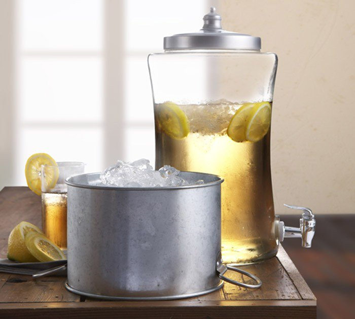 Style Setter Austin Beverage Dispenser with Ice Bucket