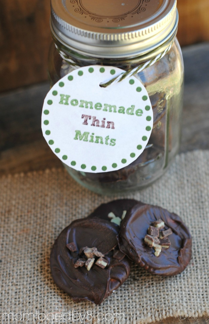 Thin Mints Jar