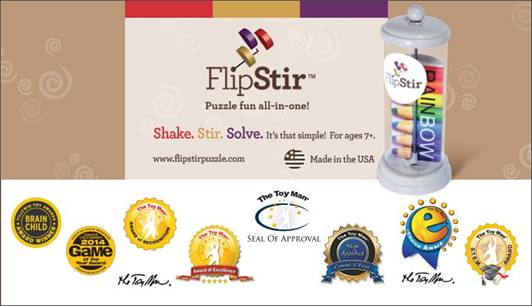 FlipStir Puzzles Awards