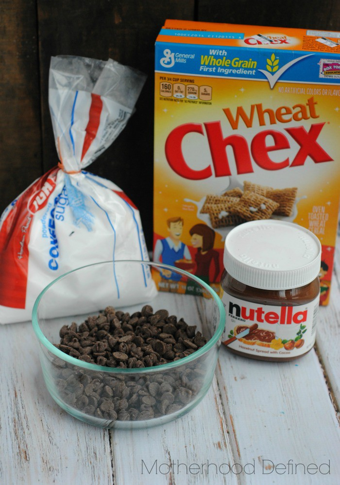 Nutella Muddy Buddies Ingredients