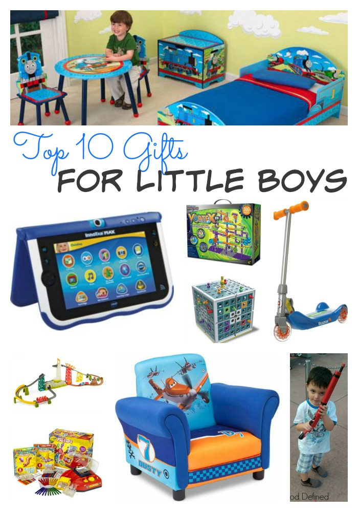10 Gifts For Little Boys