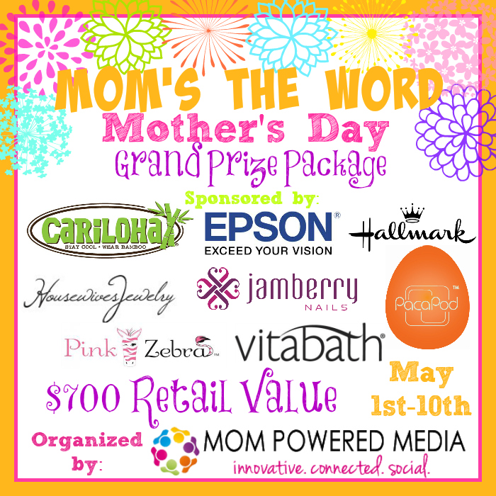 Mum's The Word Grand Prize