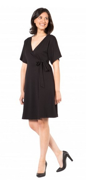 SummerSkin Wrap Dress