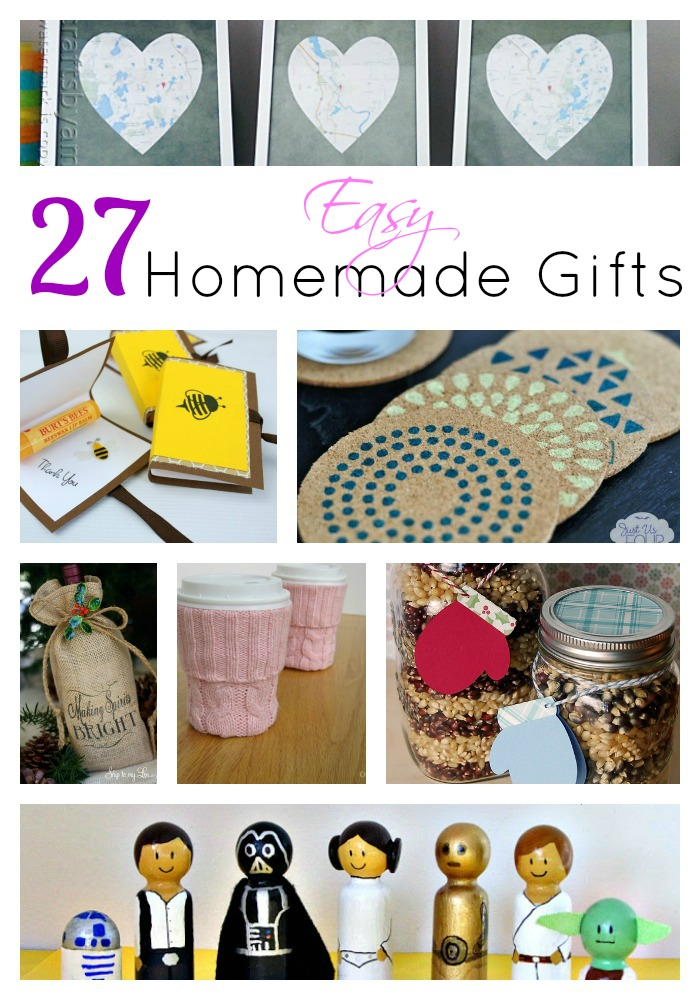 27 Easy Homemade Gifts That Even You Can Make