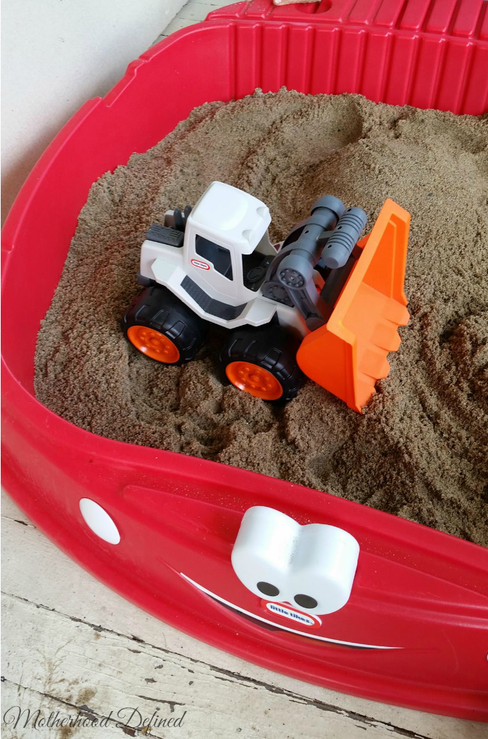 Little Tikes Dirt Digger and Sanbox