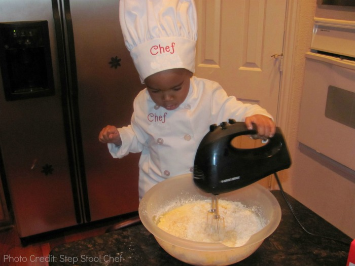 Step Stool Chef