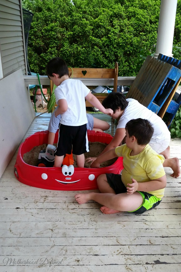 Summer Sandbox Fun
