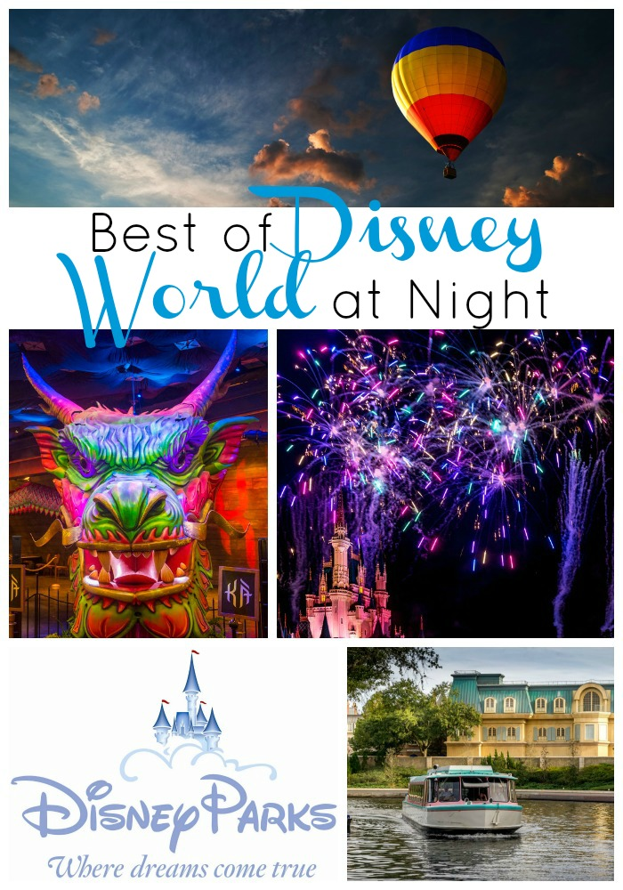 The Best of Disney World at Night