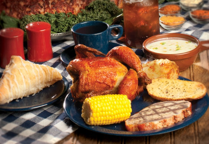 Dixie Stampede Meal