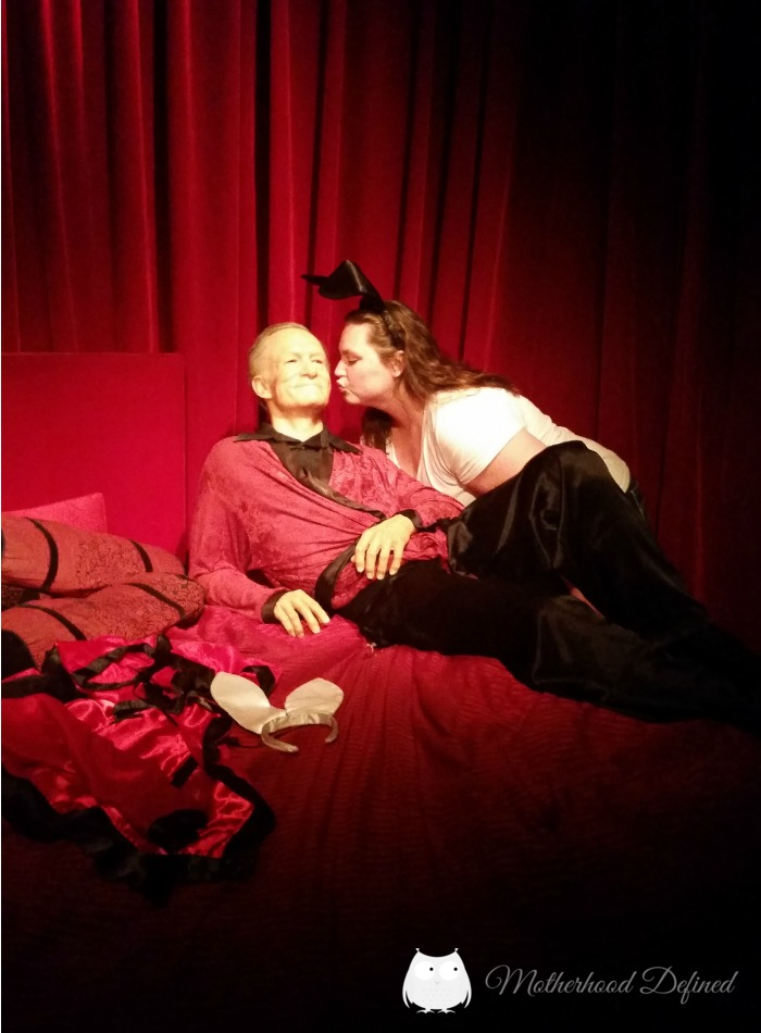 Hugh Hefner Hollywood Wax Museum