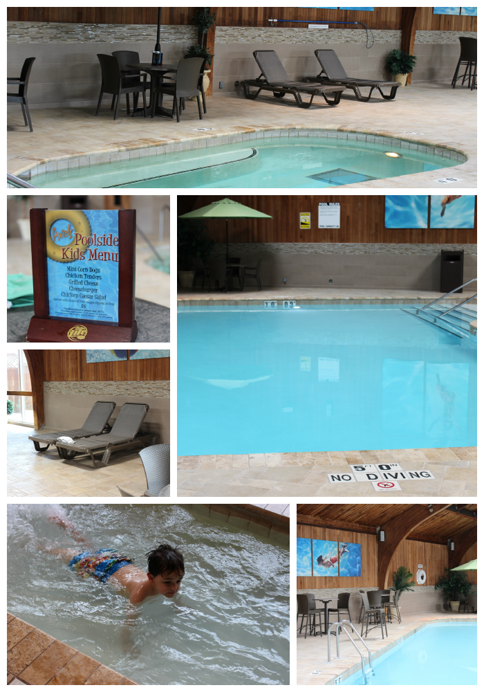 Radisson Roseville Aquatics Area