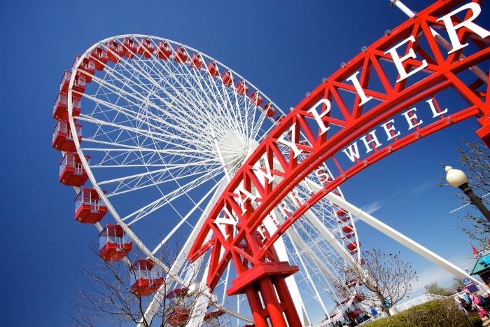 Weekend Getaway in Chicago ~ Navy Pier