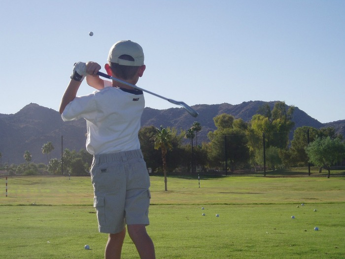 Teaching Your Child to Golf