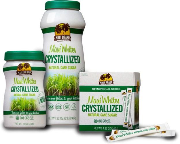 Maui Whites Crystallized Natural Cane Sugar